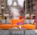 Фотообои Дождь в Париже