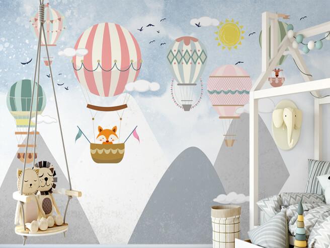 Фотообои Воздушные шары с узорами