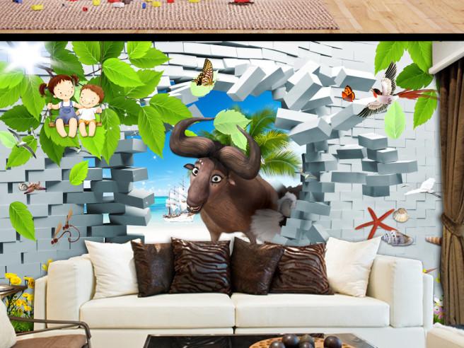 Фотообои Антилопа из стены