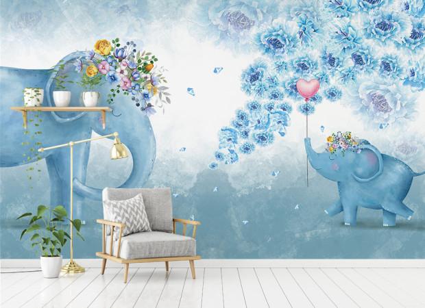 Два слона и сердечко