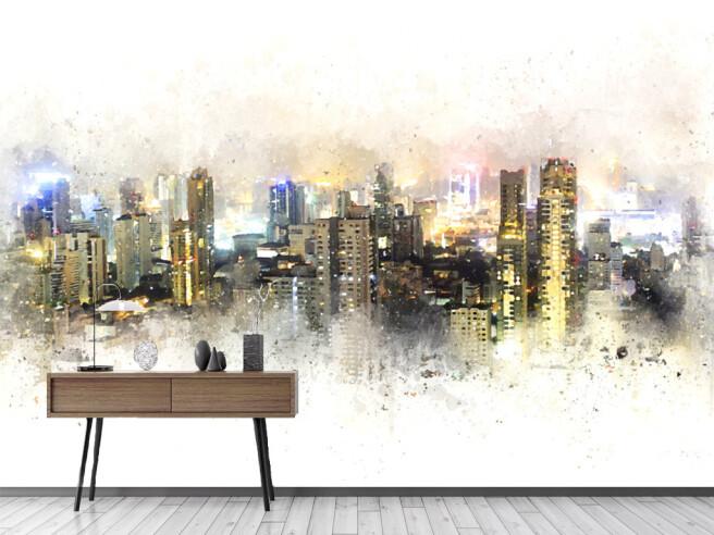 Очертание города