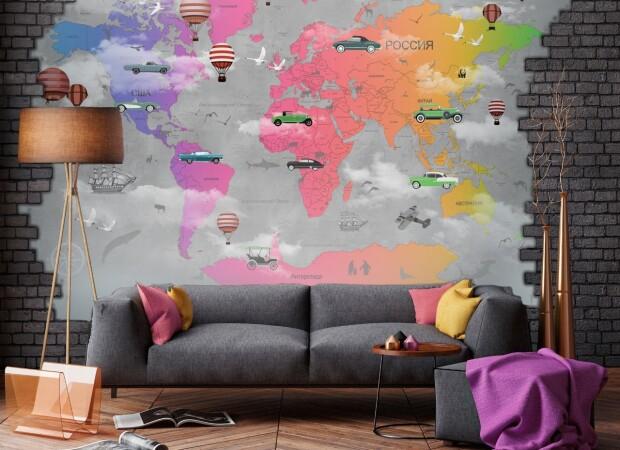 Радужная карта