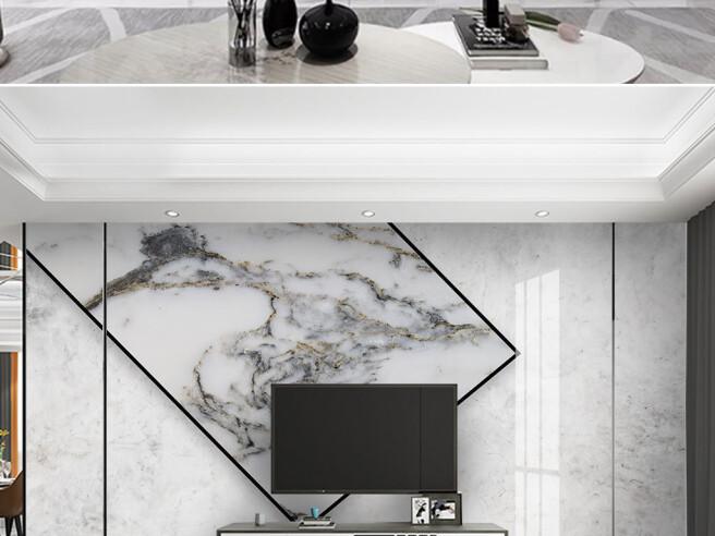 Черно-белый гранит в квадрате