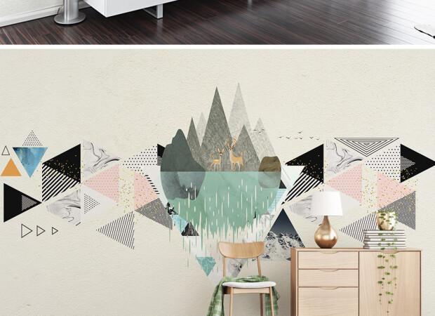 Горы и треугольники