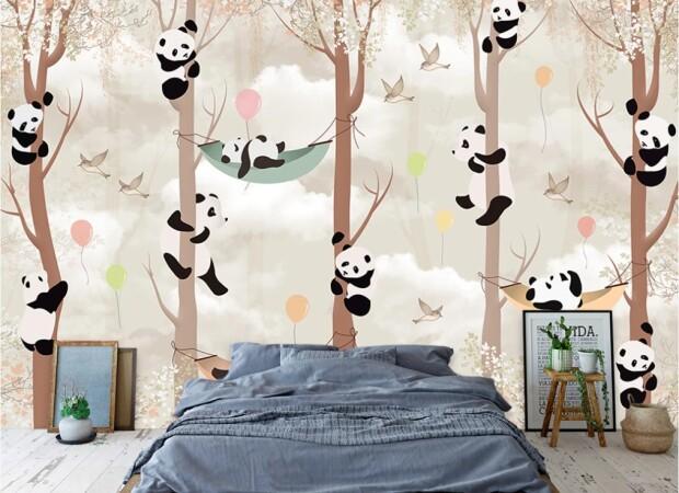 пандочки на деревьях