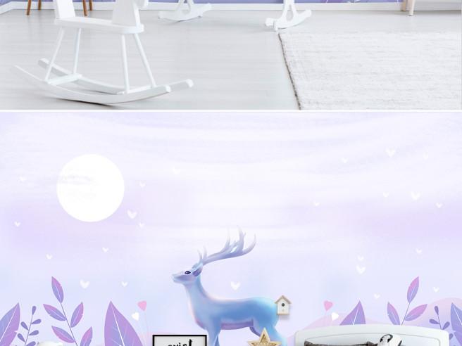 Одинокий олень