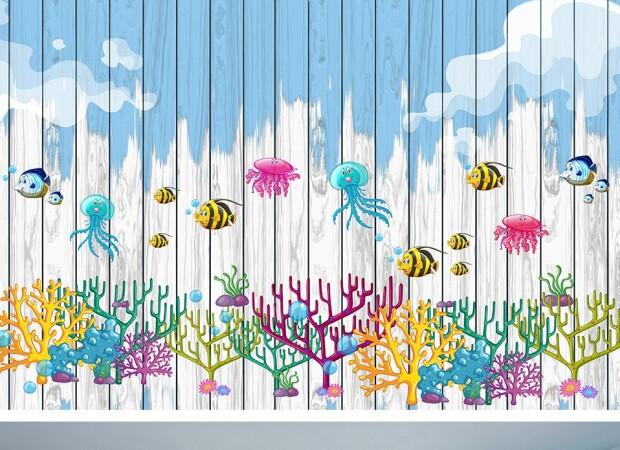 Осьминоги и кораллы