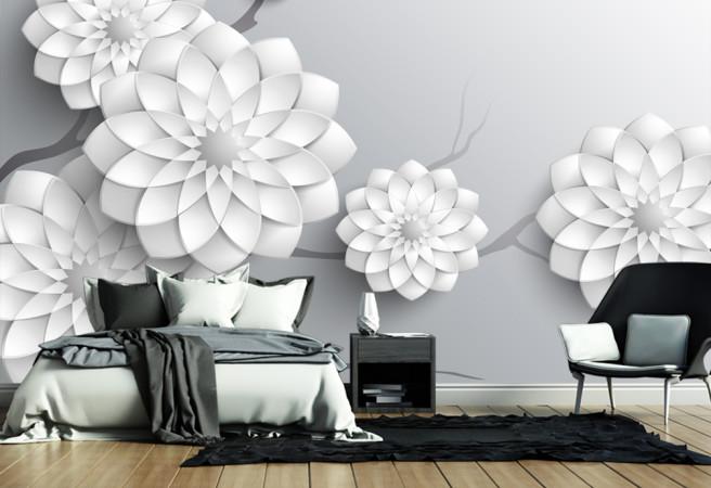 Фотообои макроцветы