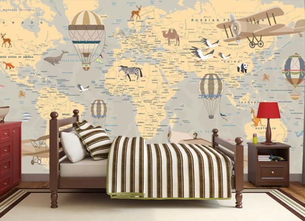 Карта мира эксклюзивная