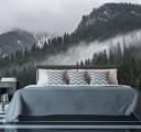 туман в горном лесу