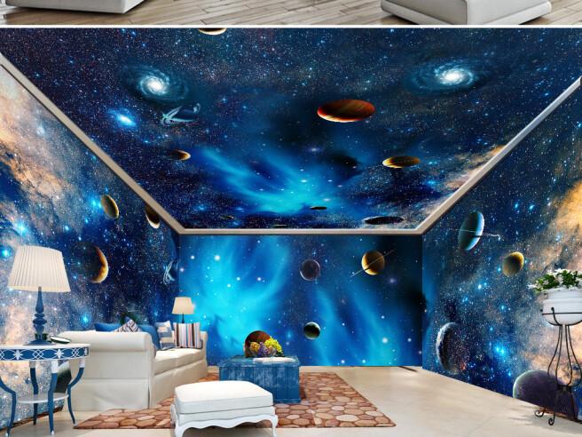 Фотообои Космическая комната