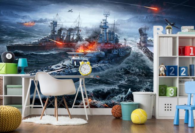 Фотообои world of warship