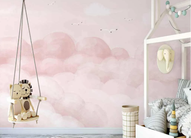 розовые облачка