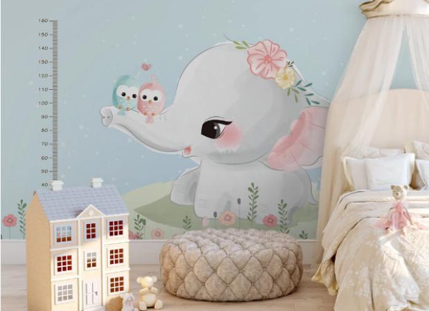 слоненок с ростомером