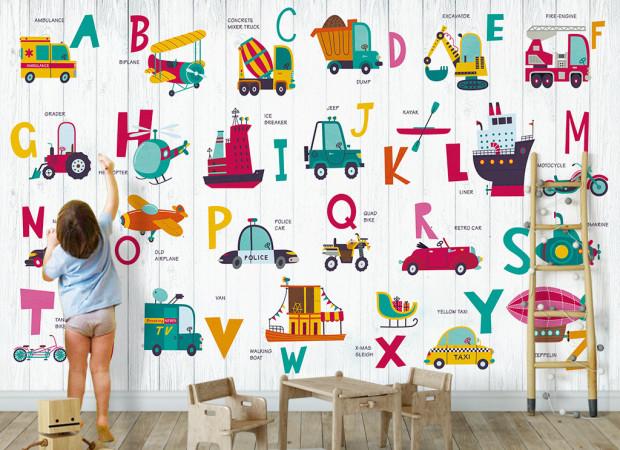 Алфавит и транспорт