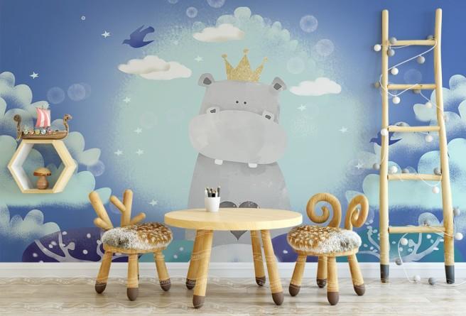 Король — бегемот