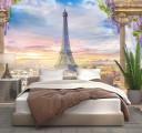 Фотообои париж из балкона