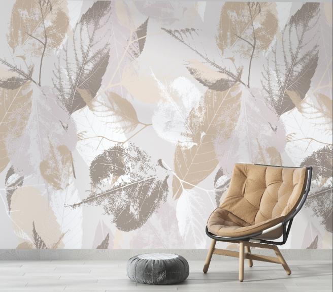 Фотообои листва в стиле лофт
