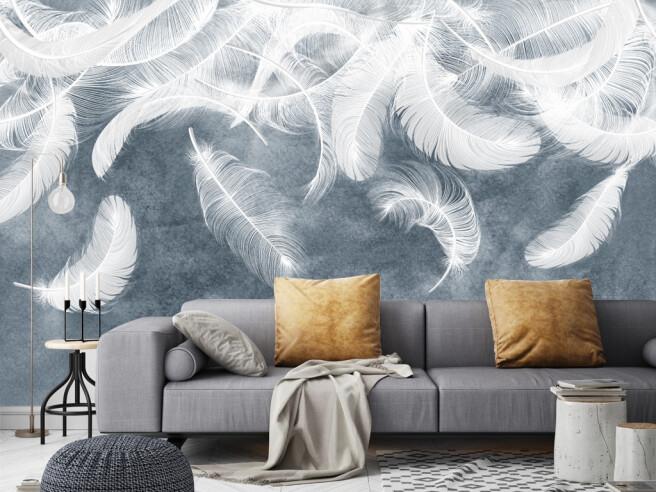 Фотообои Небо из перьев