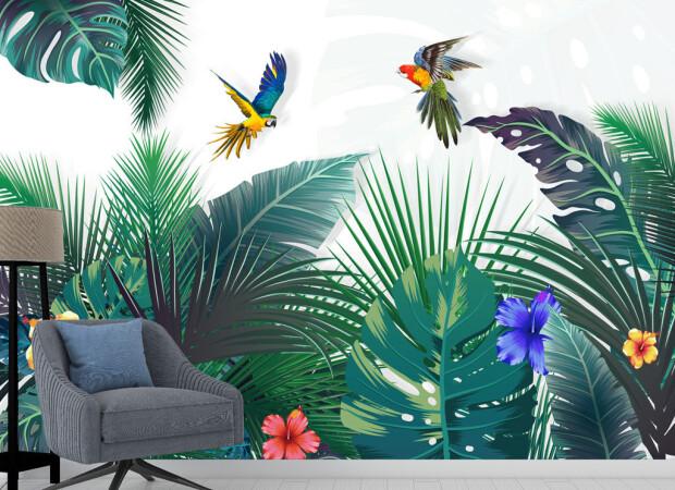 Попугай над райским садом