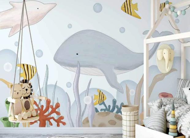 подводный мир глазами малыша
