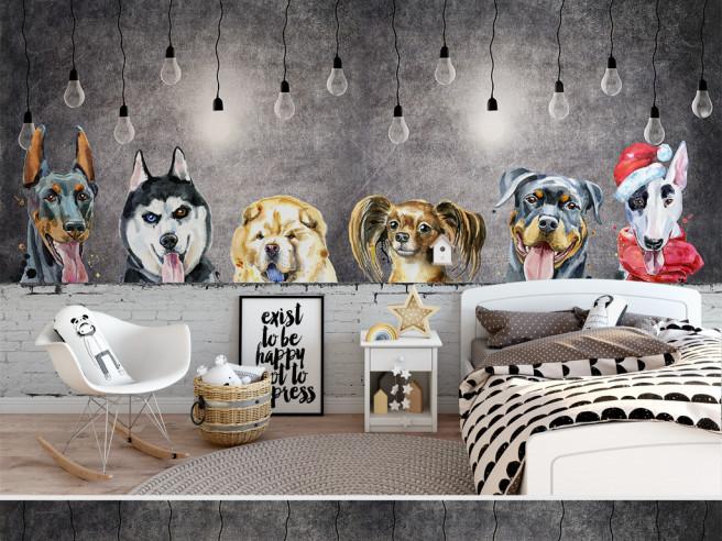 Собаки с лампочками