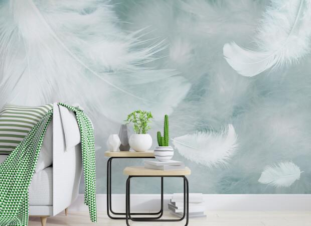 Белоснежные перья