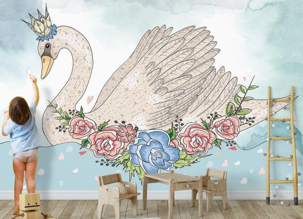 Лебедь — царевна