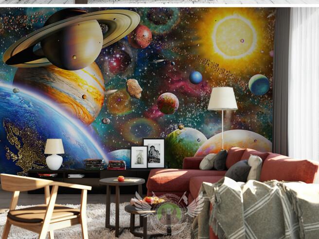 Фотообои Насыщенный космос