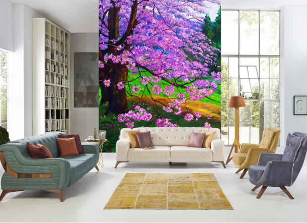 цветущее лерево