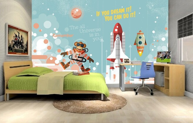 Обезьяна-космонавт