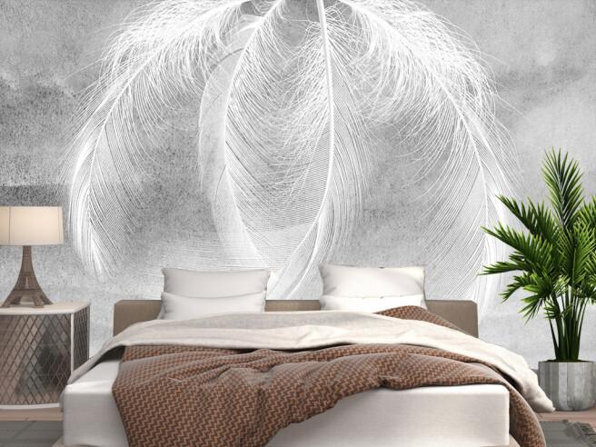 Четыри белых пера