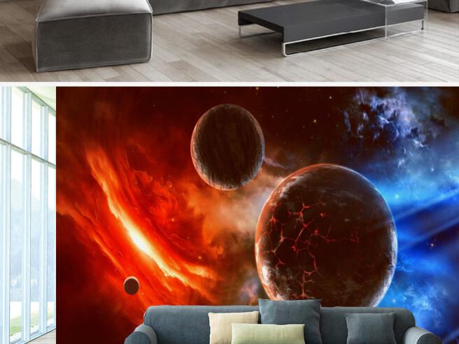 Фотообои Потухшая планета