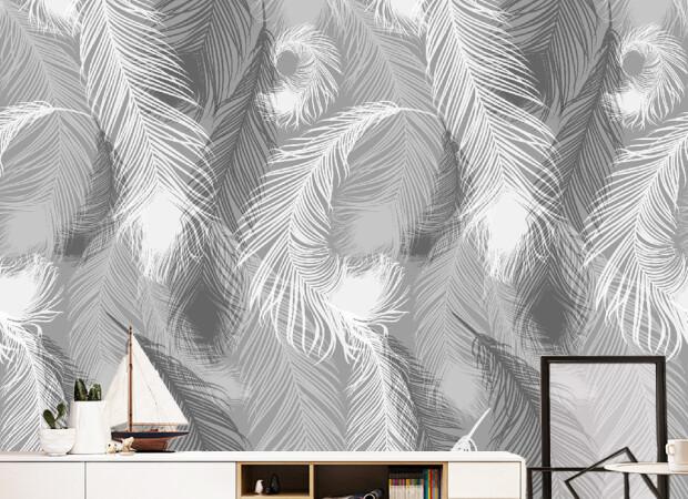 Стена из перьев