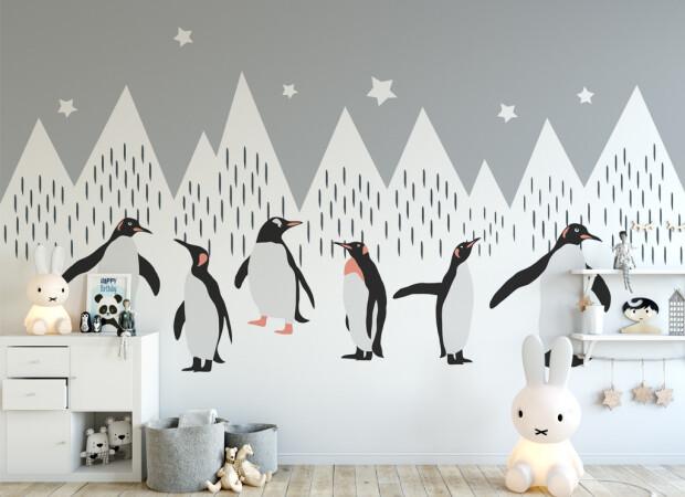 Пингвины на зимовке