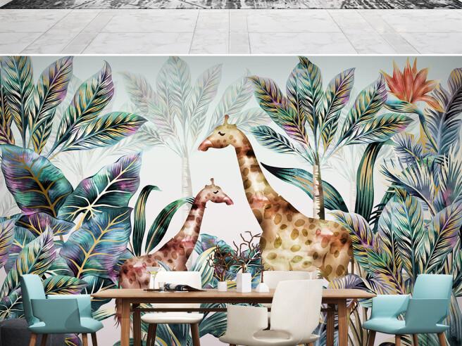 Большой и маленький жирафы