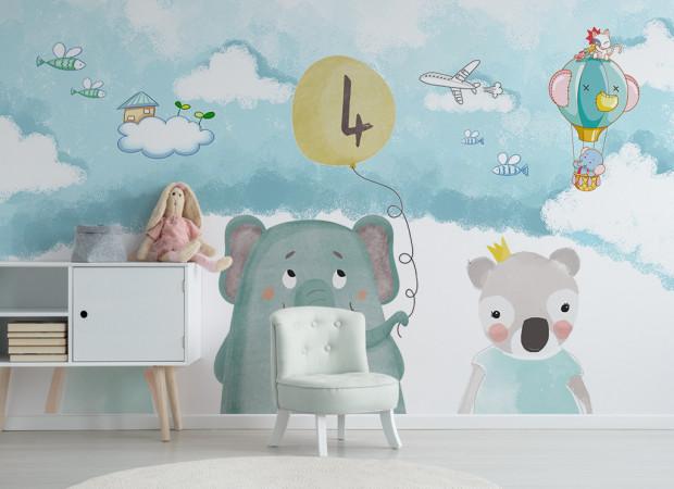 Слон и шарик 4