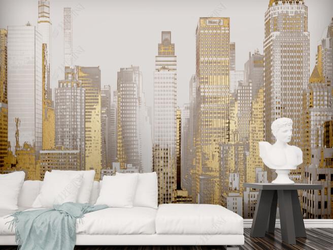 Фотообои Золотой город
