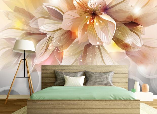 Цветок с большими лепестками