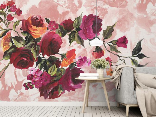 Ветвь розы