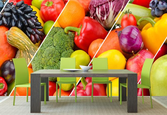 Фотообои овощной натюрморт