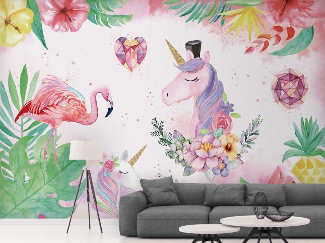 Фламинго и единороги