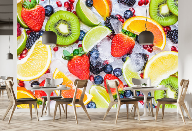 Фотообои фрукты
