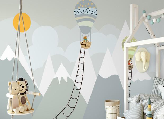 Лестница на воздушный шар