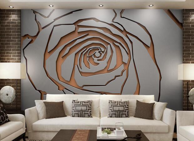 Рельефная роза
