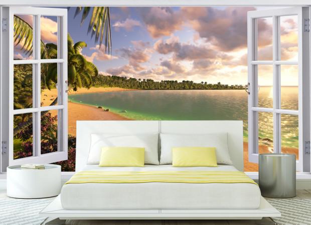 окно на берег