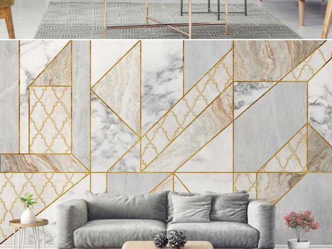 Фотообои Золотые формы