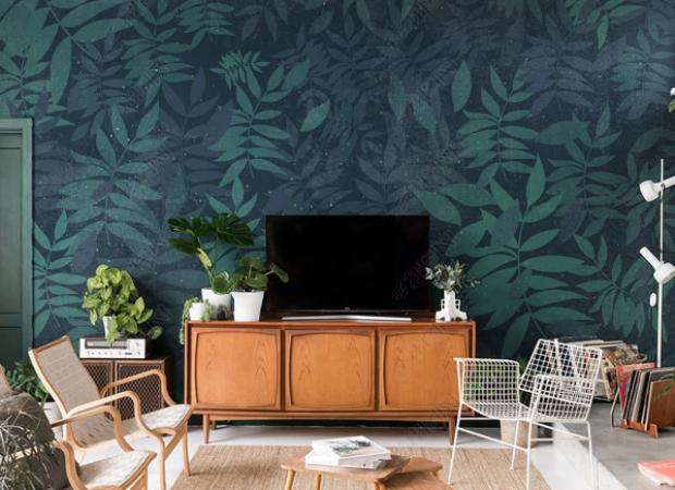 лиственная стена