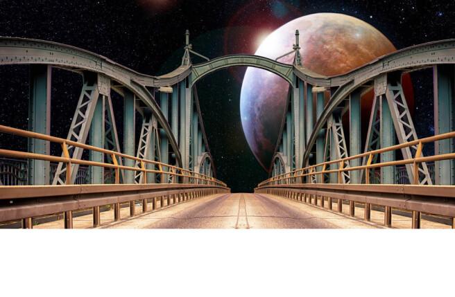 Фотообои Мост к звездам