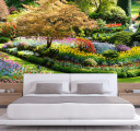 Фотообои цветущий сад